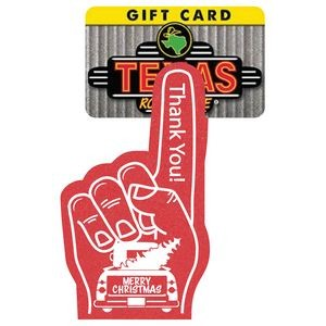 "6.5"" #1 Foam Finger Mitt / Gift Card Holder"