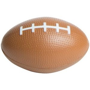 Brown Football Squeezies® Stress Reliever