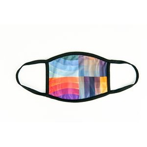 Sublimated Cloth Mask - Reusable Face Mask Fitted Design