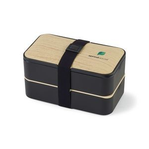 Osaka Bento Lunch Box Black