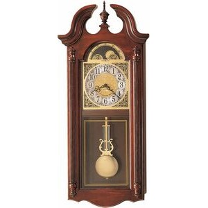 Howard Miller Fenwick dual chime wall clock