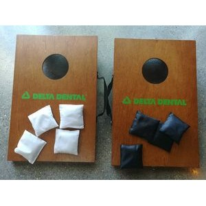 Table Top On-The-Go Cornhole Game
